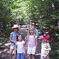 Intrepid hikers