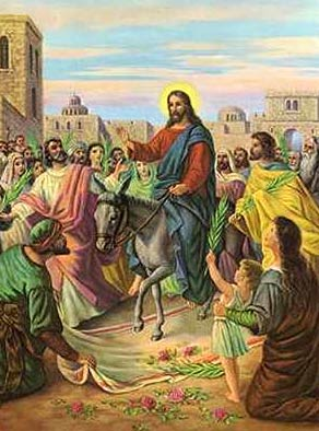 Tales From The Bonny Blue House: PALM SUNDAY